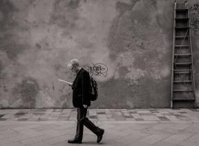 In a calle in Venice
